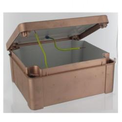 Boîte dérivation combles 7 entrées faradisée, blindée, étanche - 67 x 40mm - Flex-A-Ray