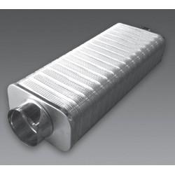 Silencieux sans fibre minérale - Quadrosilent