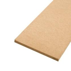 Bande résiliente fibre de bois - 4mm - Longueur 59cm - Isolation phonique de plancher efficace et pas cher