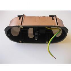Boîte double faradisée, blindée, étanche - 67 x 40mm - Entraxe 71mm - Flex-A-Ray